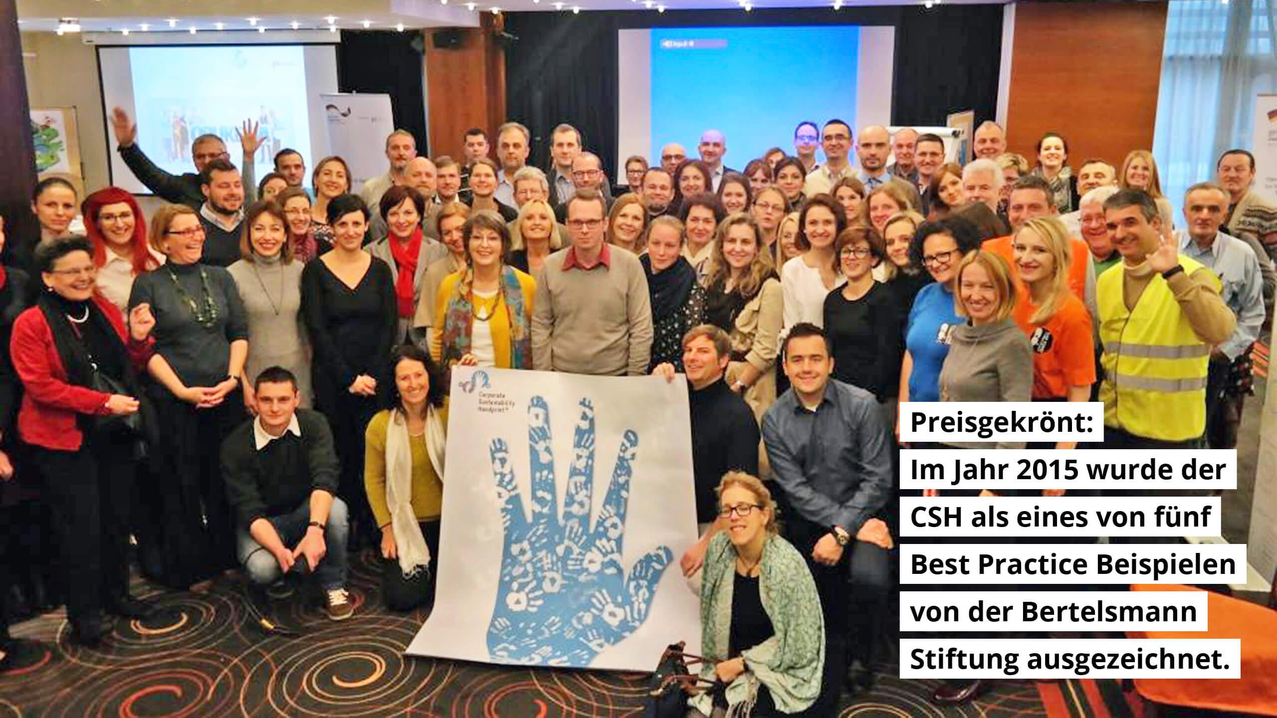Preisgekrönt: 2015 wurde der CSH als eines von fünf Best Practice-Beispielen von der Bertelsmannstiftung ausgezeichnet.