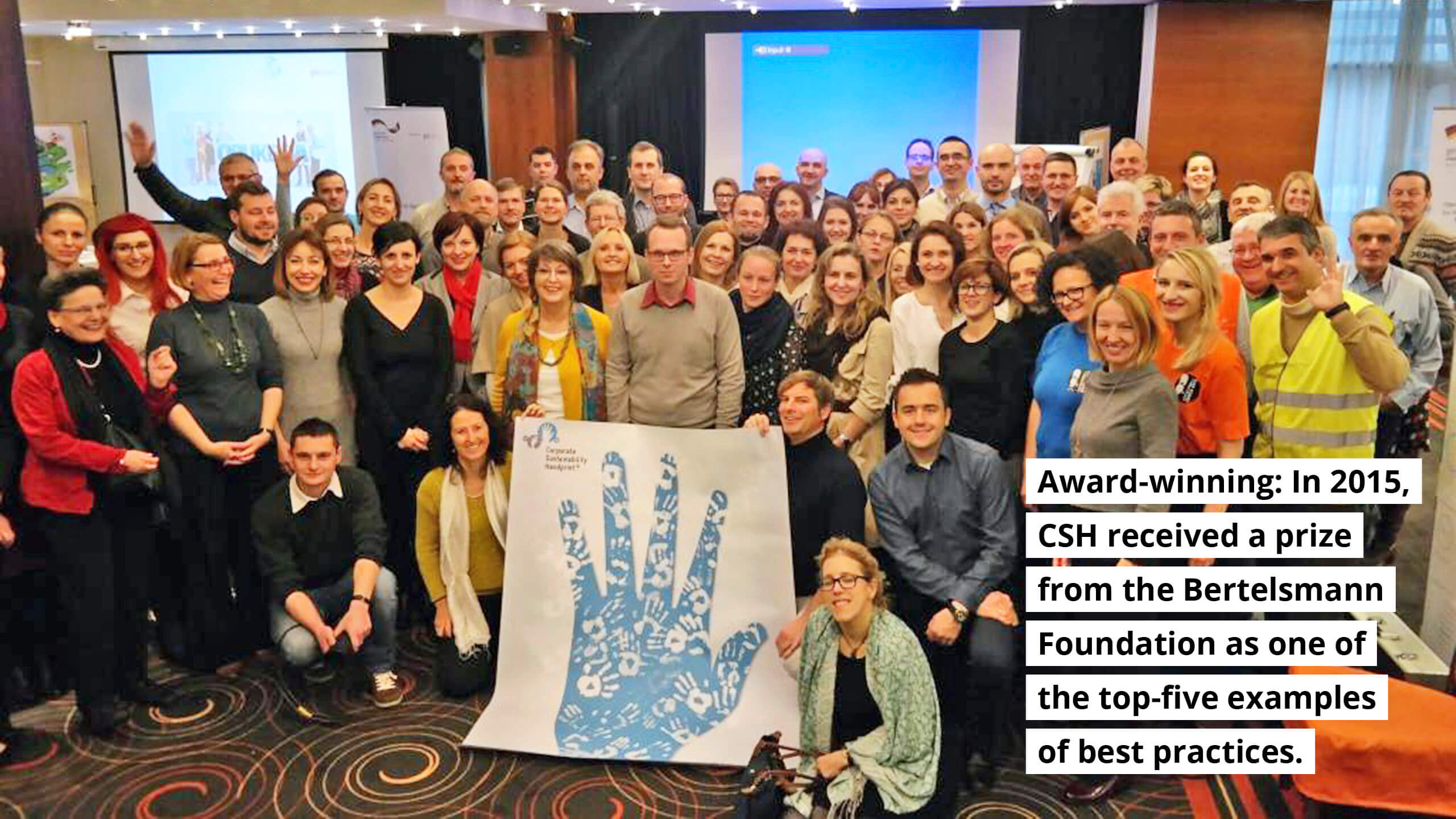 Award winning: In 2015, CSH received a price from Bertelsmann Foundation as one of the top-five examples of best practices.